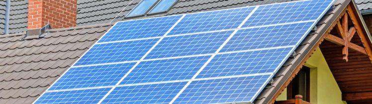Olika typer av solcellspaket till villan eller radhuset