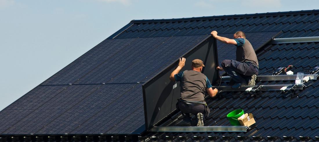 solcellsinstallatörer på tak