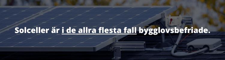 Solceller bygglov, vad säger reglerna?