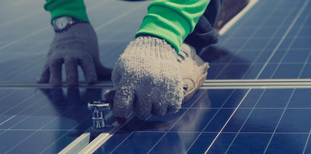 installation av solceller 5kW