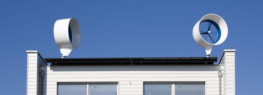 vindkraftverk på taket hemma